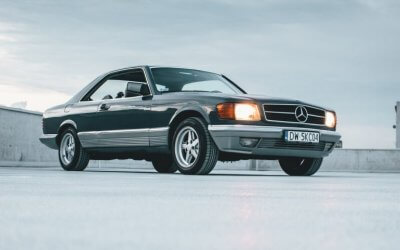 Mercedes W126 w wersji SEC