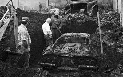 Prawdziwa historia pochowanego Ferrari Dino