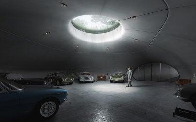 Muzeum Aston Martina w Polsce – Jaskinia 007
